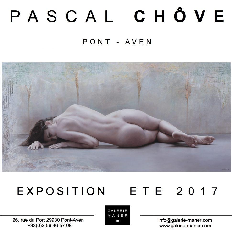 superbe exposition pascal chôve peinture nu figuratif galerie maner Manon Laura