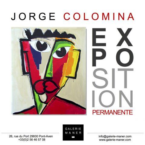 Exposition Art Jorge COLOMINA mai 2018 Galerie Maner Pont-Aven vernissage figuratif abstrait MIRAMONTES PARIS