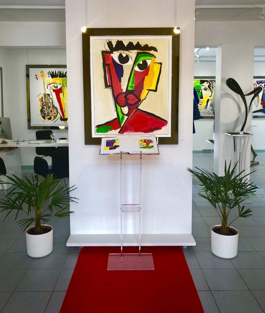 superbe exposition dat contemoporian galerie Maner Pont-Aven Colomina Arman Suraud Joy' Bernair Dufillho Le-nantec Teman Hervé