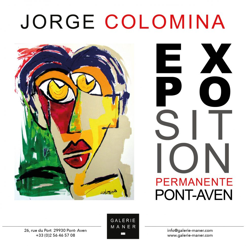 nouvelle collection Jorge Colomina Galerie Maner 2019